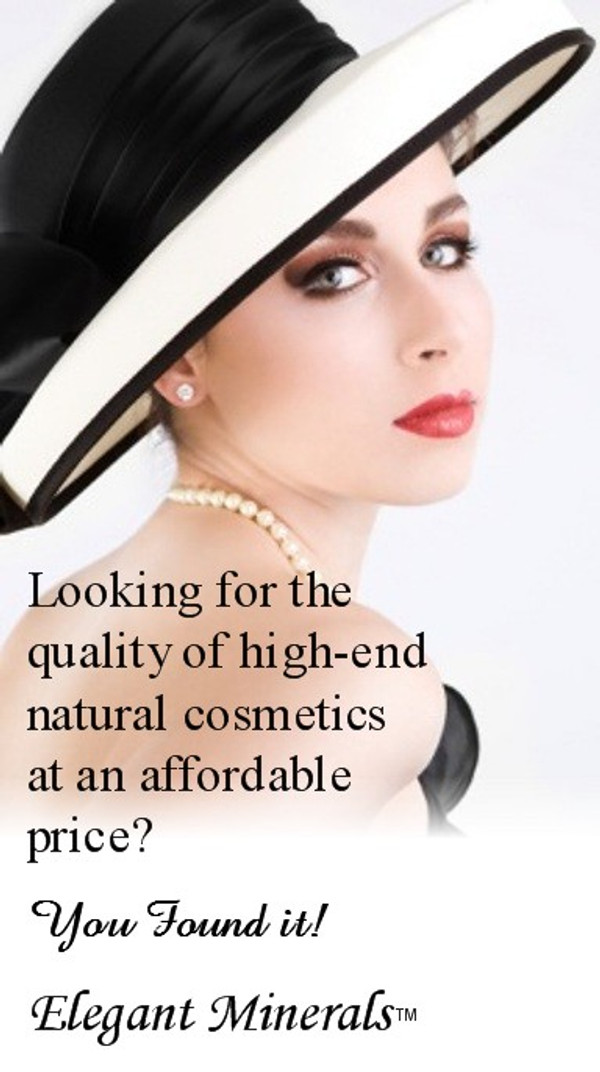 Looking for the quality of high-end natural cosmetics at an affordable price? You Found it! Elegant Minerals.