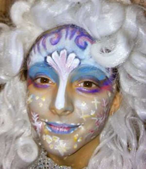 "8pc Natural ""FROZEN Snow Queen"" Halloween Face Paint Costume Makeup Kit"