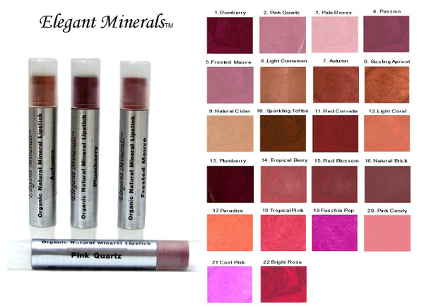 Natural & Organic MINI Mineral Lipstick