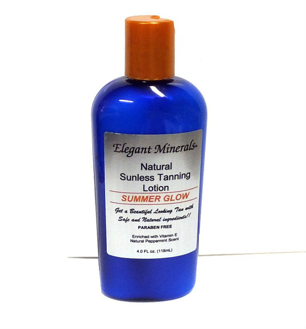 4oz Organic Sunless Tanning Lotion