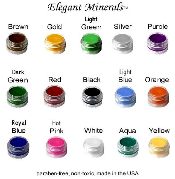 Large 1 oz. Natural & Organic Face Paint Makeup Jar