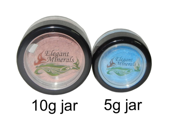 Frosted Natural SPF-15 Mineral Eye Shadow (metallic)