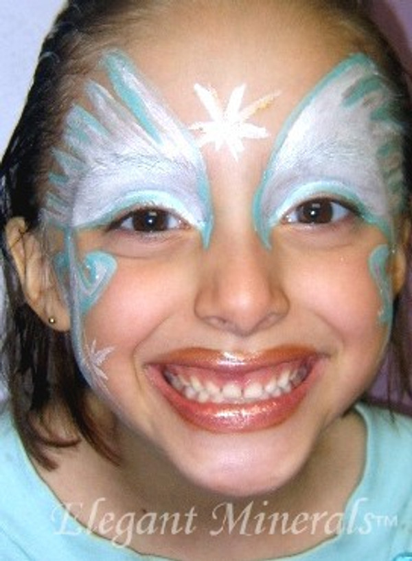 "8pc Natural Face Paint ""Angel Fairy Princess"" Halloween Costume Makeup Kit"
