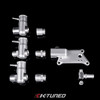 K-Tuned - RBC Upper Coolant Neck (Basic w/ -16AN Fitting)