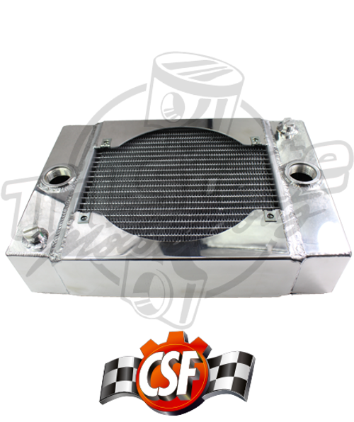 CSF - Universal Drag Radiator with SPAL fan