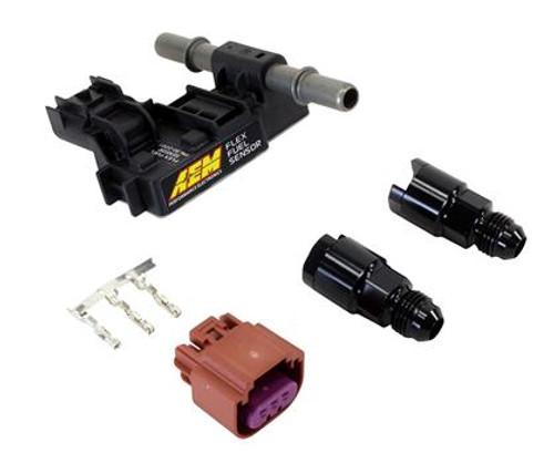 AEM - Ethanol Content Flex Fuel Sensor Kit (-6 AN)