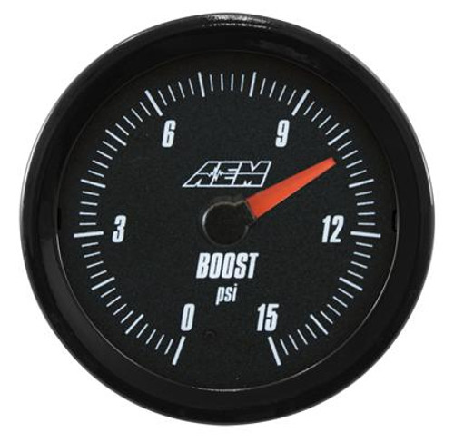 AEM - Analog Low Boost/Fuel Pressure Gauge