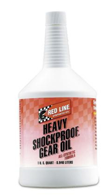 Red Line - Heavy ShockProof Gear Oil Quart