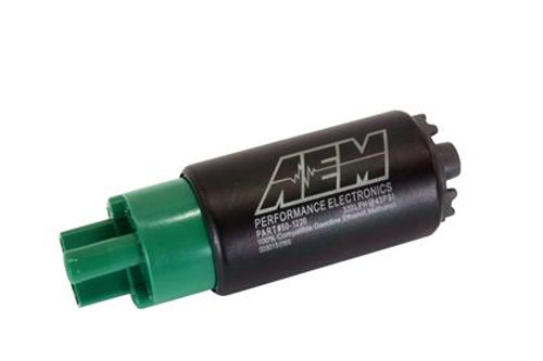 AEM - E85 High Flow In-Tank Fuel Pump (65mm Short Offset Inlet)