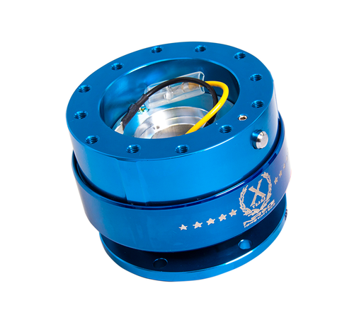 NRG - Quick Release GEN 2.0 (Blue Body w/ Chrome Blue Ring)