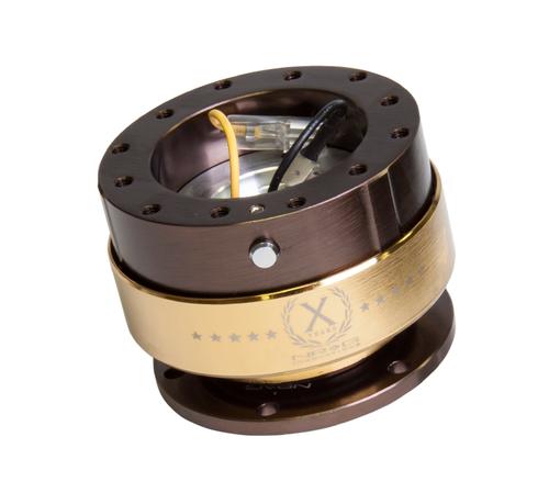 NRG - Quick Release GEN 2.0 (Bronze Body / Chrome Gold Ring)