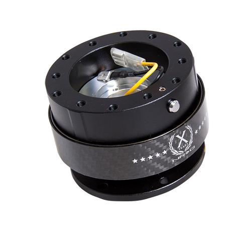 NRG - Quick Release GEN 2.0 (Black Body / Carbon Fiber Ring)