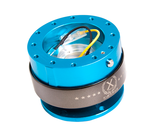 NRG - Quick Release GEN 2.0 (New Blue Body/Titanium Chrome Ring)