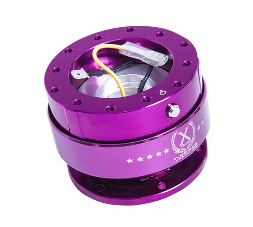 NRG - Quick Release GEN 2.0 (Purple Body/Chrome Purple Ring)