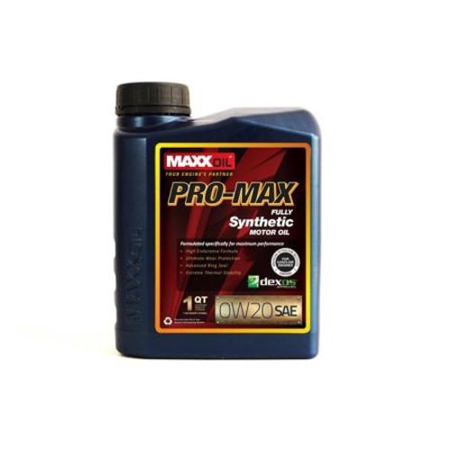 Maxx Oil - PRO MAX 0W20 Synthetic
