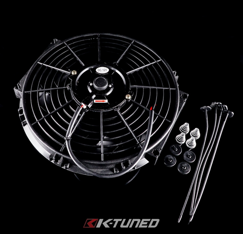 K-Tuned - 12' Slim Fan (w/ Mounting Kit)