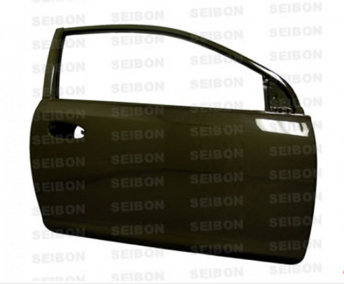 Seibon - OEM-style carbon fiber doors for 1992-1995 Honda Civic 2DR *OFF ROAD USE ONLY! (pair)