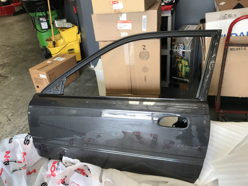 Seibon - OEM-style carbon fiber doors for 1996-2000 Honda Civic 2DR *OFF ROAD USE ONLY! (pair)