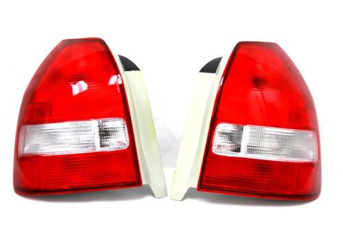 Spec-D - 96-00' Civic 3DR Hatchback Tail-Lights