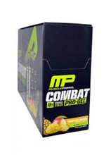 MusclePharm Combat Pro Protein Gel - Tropical Mango (Pack Of 12 Gels)