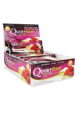 Quest Nutrition Quest Protein Bar -  White Chocolate Raspberry - (12 bars)