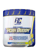 Ronnie Coleman Yeah Buddy Pre Workout Powder - Electric Lemonade, 240Gm 30 Servings