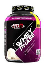 4 Dimension Nutrition Whey Phase Protein Powder - Vanilla, 5 Lbs