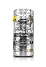 Muscletech Platinum 100% Carnitine - 180 Capsules