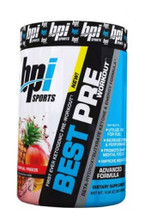 Bpi Sports Best Pre Pre-Workout Powder - Tropical Freeze, 30 Servings