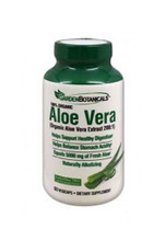 Garden Botanicals Aloe Vera Herbal Supplements - 60 Capsules