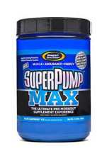 Gaspari Nutrition Superpump Max Pre-Workout Powder - Blue Raspberry Ice, 640 g