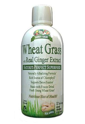 Garden Greens Wheat Grass - Lemon 32 oz