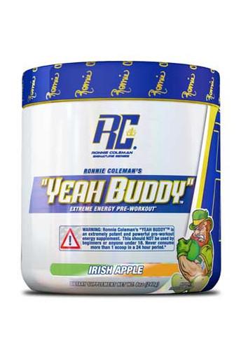Ronnie Coleman Yeah Buddy Pre Workout Powder - Irish Apple, 240Gm 30 Servings