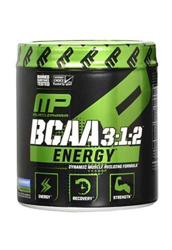MusclePharm BCAA 3:1:2 Energy Blue Raspberry, 30 Servings
