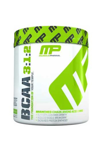 MusclePharm BCAA 3:1:2 Powder - Unflavoured, 30 Servings