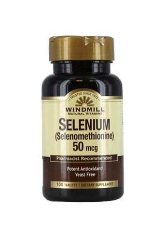 Windmill Selenium 50 mcg. W/Selenomax - 100 Tabs