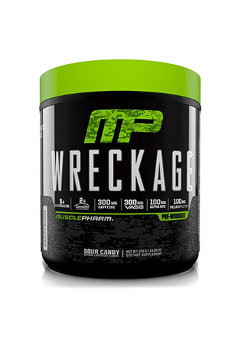 Wreckage 25Svg 375Gms Sour Candy
