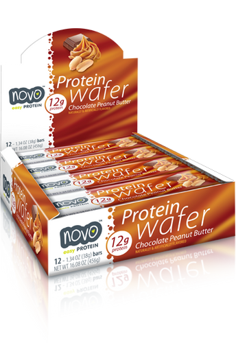 Novo Protein Wafer Bar 38Gm Cho Peanut Butter [ 12 BAR ]