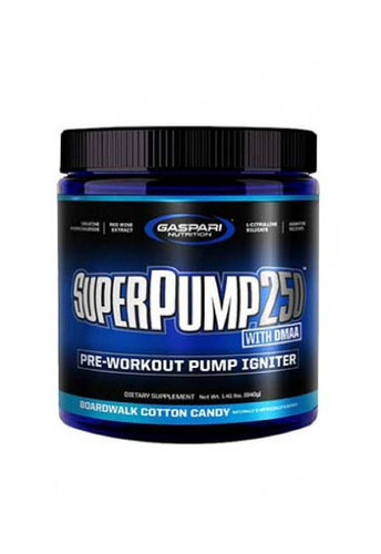 Gaspari Nutrition SuperPump 250 - Cotton Candy, 30 Servings