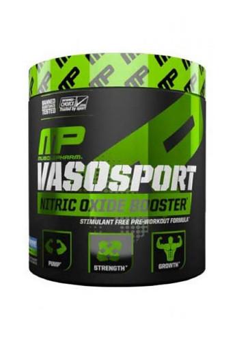 MusclePharm Vaso Sport - Blue Raspberry, 30 Servings