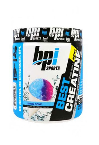 Bpi Sports Best Creatine - Snow Cone, 50 Servings