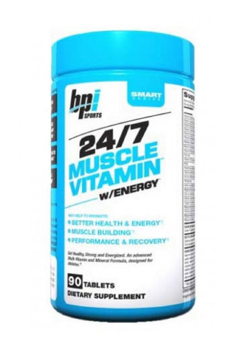 Bpi Sports Muscle Vitamins 24/7 - 90 Tabs