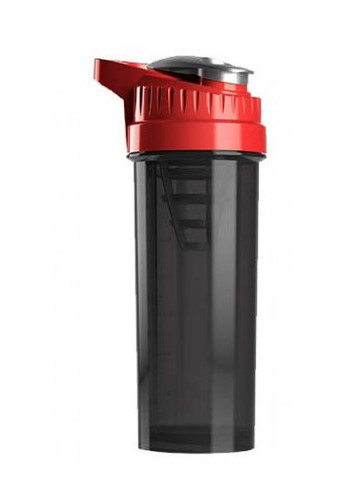 Cyclone Cup Protein Shaker Bottle - Smoked Red, 32 Oz