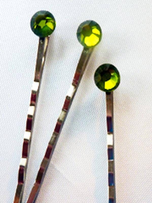 Tinsel Hair Pins