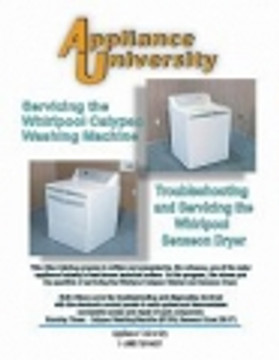 Learn How to Diagnose, Troubleshoot and Repair Clothes Washer & Dryer