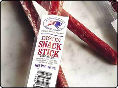 Bison Snack Sticks: 24 (1 lb.)