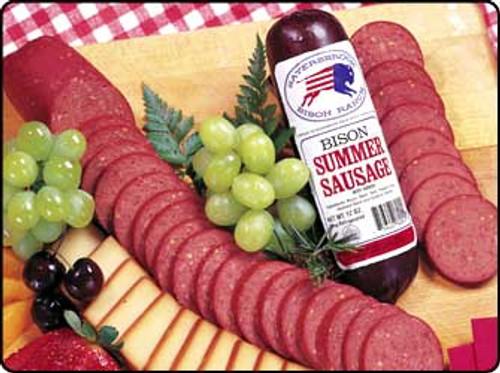 bison summer sausage