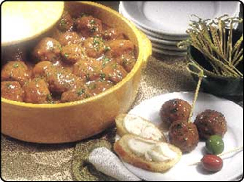 Bison Swedish Meatballs