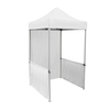 5ft x 5ft Pop Up Tent Canopy Top - White with side walls