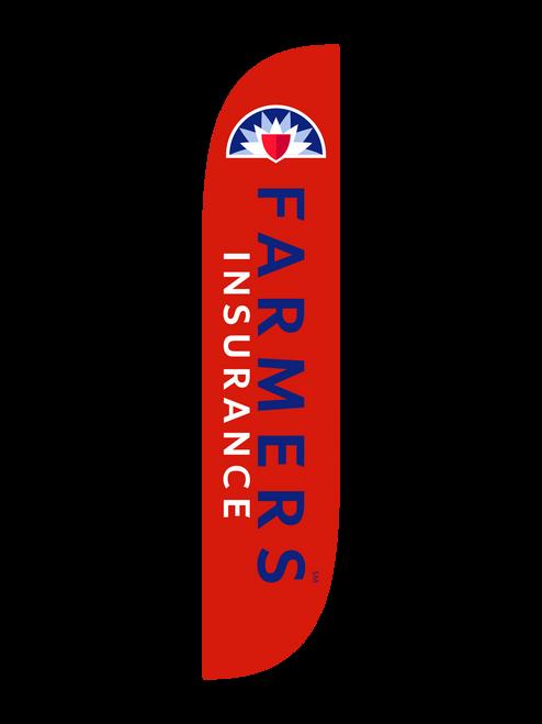 12ft Farmers Insurance Feather Flag